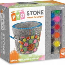 Paint Your Own Mosaic Flower Pot