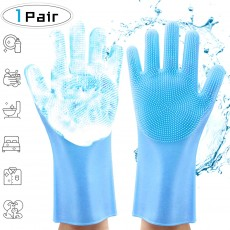 Reusable Silicone Dishwashing Gloves