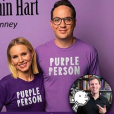 Red Bank, NJ Events for Kids: Kristen Bell & Benjamin Hart with Jeff Kinney