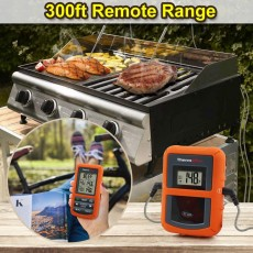 Wireless Remote Digital Cooking Meat Thermometer