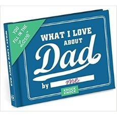 What I Love about Dad Book