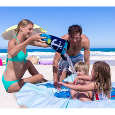 Waterproof Beach Blanket & Kiddie Pool