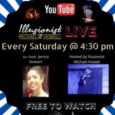 Wilmington, NC Events for Kids: Illusionist Mchael Howell Live on Youtube