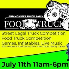 Wesley Chapel-Lutz, FL Events for Kids: Monster Truck & Food Truck Rally