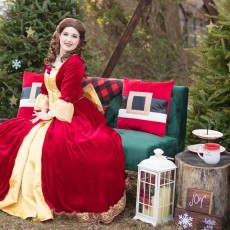 Christmas in July with Princess Beauty
