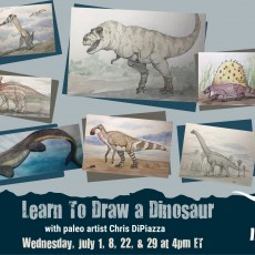 Things to do in San Antonio Northwest, TX: LIVE Video! Learn to Draw A Dinosaur with Chris DiPiazza
