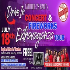 Wesley Chapel-Lutz, FL Events for Kids: Latitude28's Drive-In Concert and Fireworks Extravaganza