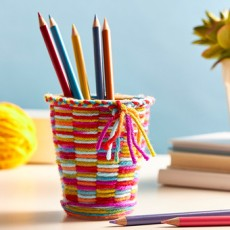 Wesley Chapel-Lutz, FL Events for Kids: Kids Club Online: Woven Pencil Cup