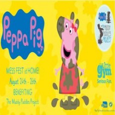 Red Bank, NJ Events for Kids: Peppa Pig Mess Fest at Home:
