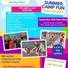 Things to do in Deptford-Monroe Township, NJ for Kids: Camp SAM Learning Center 2020/2021, Rastelli Kids Complex