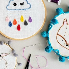 Things to do in Worcester, MA: Intro to Embroidery: Outdoor Art Class