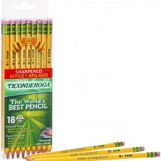 TICONDEROGA Pre-Sharpened Pencils