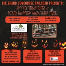 Wesley Chapel-Lutz, FL Events for Kids: Spooky Train Ride & Scary, Haunted Walk-Through Trail