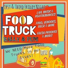 First & Third Friday Food Truck Rally