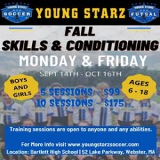 Fall Soccer Skills & Conditioning (Ages 6 - 18)