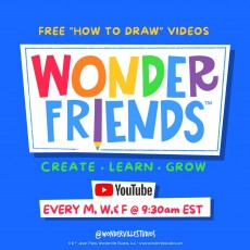 Things to do in Southern Monmouth, NJ for Kids: Live Drawing with Author & Illustrator Jason Tharp, Wonderville Studios
