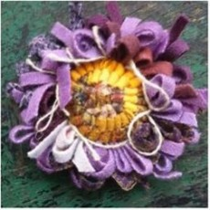Things to do in Worcester, MA: Learn How to Hook a Wool Flower Pin: Outdoor Class
