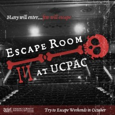 Things to do in Westfield-Clark, NJ for Kids: Escape Room at UCPAC, Union County Performing Arts Center