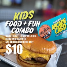 Things to do in Columbus West, OH for Kids:  Kids Food + Fun Combo, Ten Pin Alley