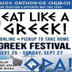 2020 Tucson Greek Festival- Eat Like a Greek!