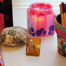Worcester, MA Events for Kids: Decoupage Your Heart Out: Outdoor Class