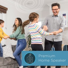 Alexa Enabled Smoke and Carbon Monoxide Detector with Speaker