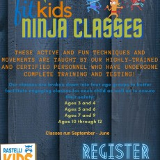 Things to do in Deptford-Monroe Township, NJ for Kids: Fit Kids Ninja Classes, Rastelli Kids Complex