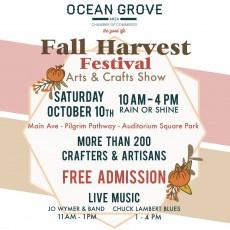 Ocean Grove's Fall Harvest Festival Arts & Crafts Show