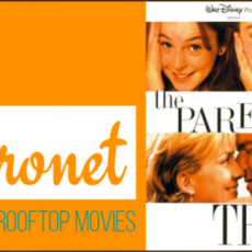 Things to do in Southern Monmouth, NJ: ROOFTOP MOVIES AT THE ASBURY HOTEL - The Parent Trap