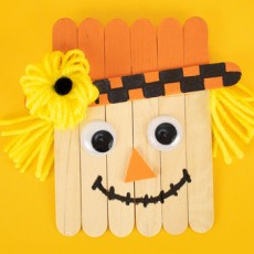 Things to do in Round Rock-Georgetown, TX: Kids Club Online: Craft Stick Scarecrow