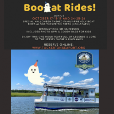 Things to do in Cape May County, NJ: Boo-at Rides (7 Trips Daily)