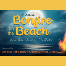 11th Annual Bonfire on the Beach (See Description, Important Changes This Year)