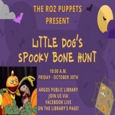 Little Dog's Spooky Bone Hunt Puppet Show