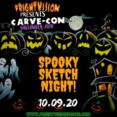 Carve-Con: Spooky Sketch Night & Science Lab