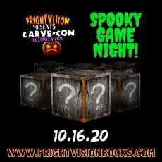 FrightVision presents Carve-Con: Spooky Game Night!