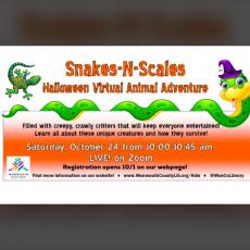 Snakes '€˜N Scales - Virtual Halloween Animal Adventure