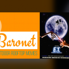 Things to do in Southern Monmouth, NJ: ROOFTOP MOVIES AT THE ASBURY HOTEL - E.T. The Extra-Terrestrial