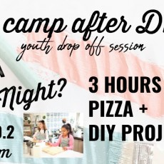 Things to do in Main Line, Pa: Kids Camp After Dark! Drop your Kids off for Date Night!