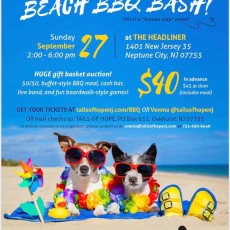 Tails of Hope 5th Annual Beach BBQ Bash