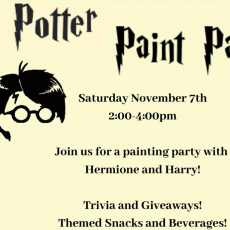 Things to do in Red Bank, NJ: Potter Paint Party