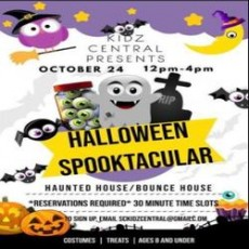 Worcester, MA Events for Kids: Kidz Central's Halloween Spooktacular (Ages 8 and under)