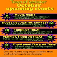 Things to do in Worcester, MA: Town of Webster Trunk or Treat