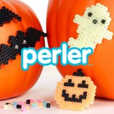 Kids Club Online: Perler Bead Halloween Pumpkins
