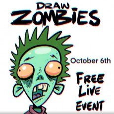 Drawing Zombies with Artist Steve Harpster