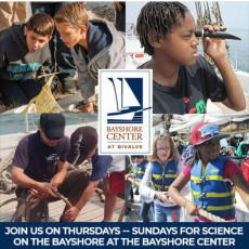 Things to do in Cape May County, NJ for Kids: FREE Science on the Bayshore (Workshops at 12PM & 3PM), Bayshore Center at Bivalve