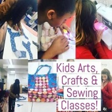 Kids/Teen Sewing Classes (In-Person & Virtual Live)