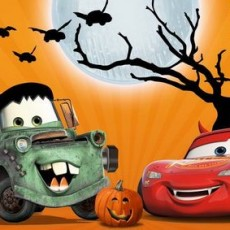 Disney Pixar Cars Halloween Fun