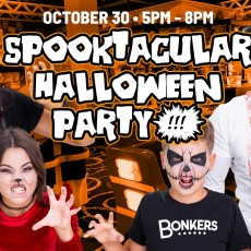 Things to do in Columbia, MO for Kids: Bonkers Spooktacular Halloween Party, Bonkers - Columbia Missouri