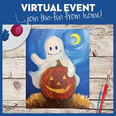 Virtual Paint Class - Boo Buddies