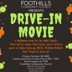 Free Drive-In Movie: Halloween Event